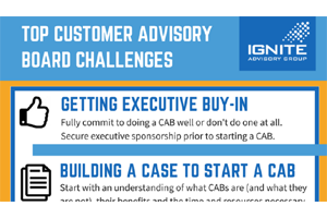 Top Customer Advisory Board Challenges Infographic