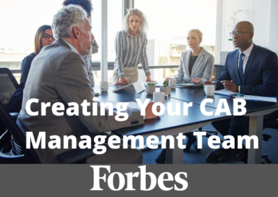 Creating and Aligning Your CAB Management Team